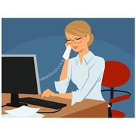 ergonomie au bureau pour une meilleure ergonomie au travail voici stop maux de dos. Black Bedroom Furniture Sets. Home Design Ideas